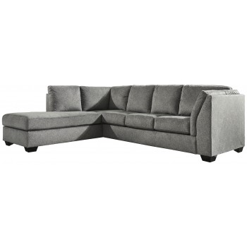 Belcastel - Belcastel 2-Piece Sectional with Chaise and Sleeper