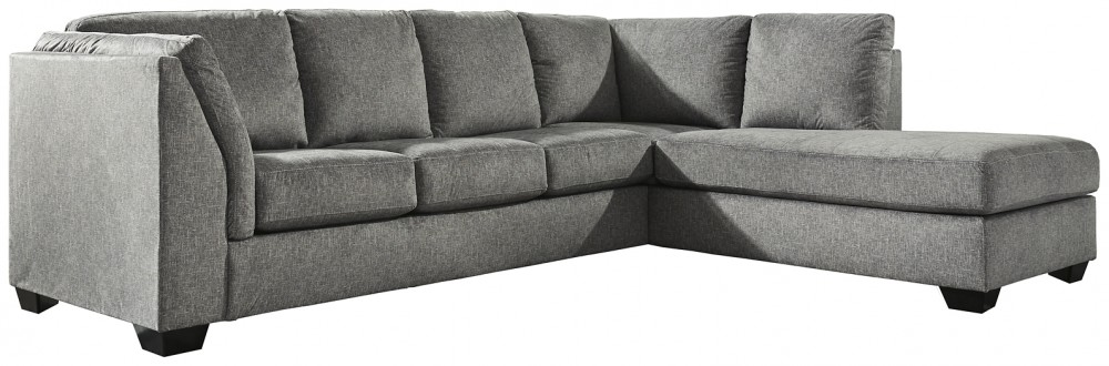 Belcastel 2-Piece Sectional with Chaise and Sleeper