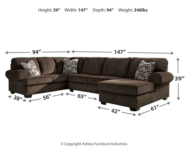 Jinllingsly 3 Piece Sectional With Chaise 72501s2 17