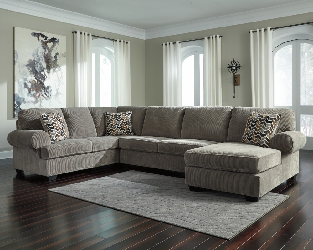 Jinllingsly jinllingsly 3 piece sectional with chaise - Apartment sofa with chaise ...