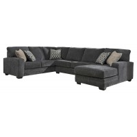 Tracling - Tracling 3-Piece Sectional with Chaise