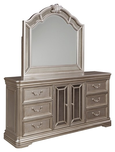 Birlanny - Dresser and Mirror