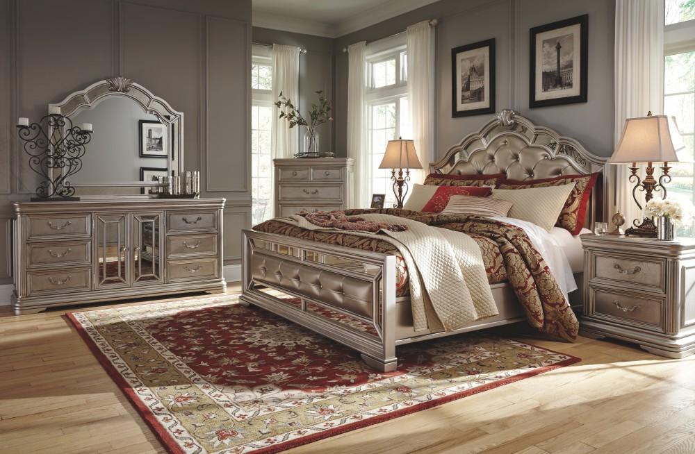 Birlanny Queen Panel Bed