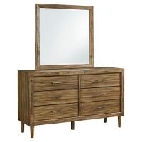 Broshtan Dresser and Mirror