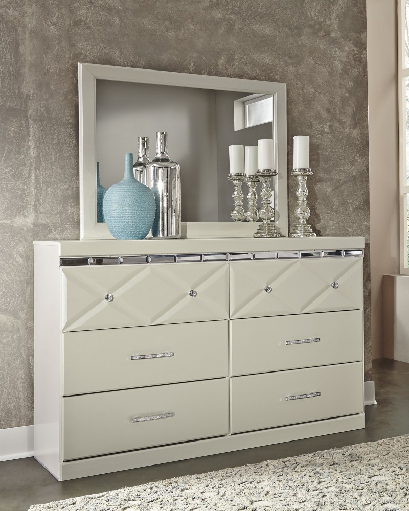 Dreamur - Dreamur Dresser and Mirror