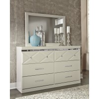Dreamur - Dresser and Mirror