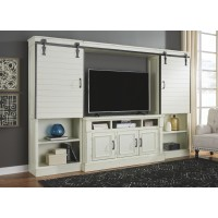 Blinton - 4-Piece Entertainment Center