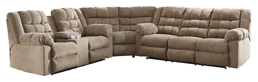 Workhorse 3-Piece Reclining Sectional | 58401S1/77/88/94 | Reclining ...
