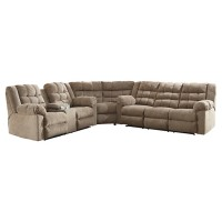 Workhorse - Workhorse 3-Piece Reclining Sectional