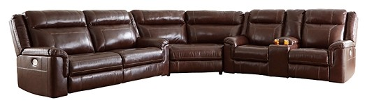 Wyline - 3-Piece Power Reclining Sectional