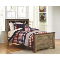 Trinell - Twin Bookcase Bed