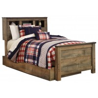 Trinell Twin Bookcase Bed with Storage