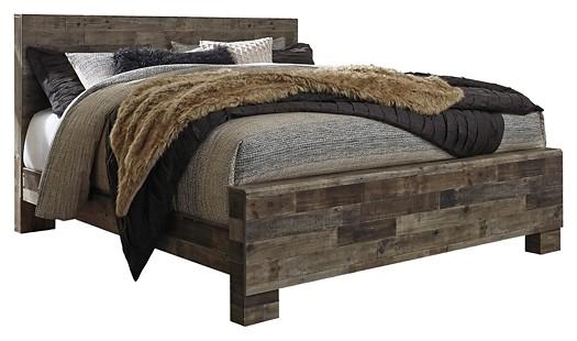 Derekson - King Panel Bed