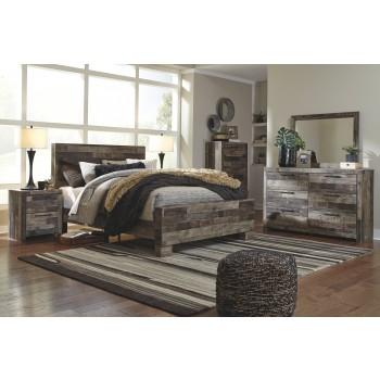 Derekson Queen Panel Bed