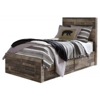 Derekson Twin Panel Bed with Storage