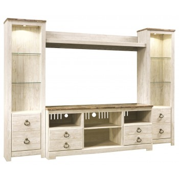 Willowton - 4-Piece Entertainment Center