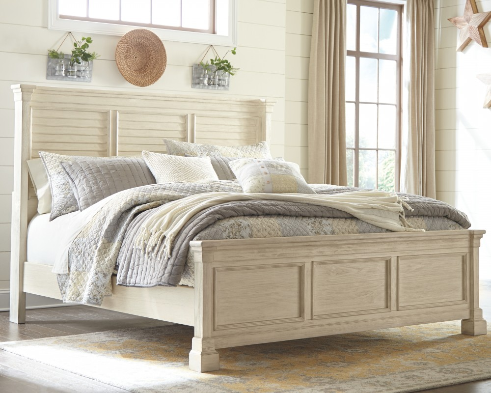 Bolanburg - Queen Panel Bed