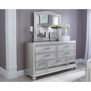 Coralayne Dresser and Mirror