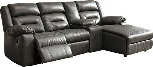 Coahoma 4-Piece Reclining Sectional with Chaise and Power