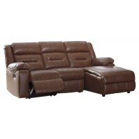 Coahoma - Coahoma 3-Piece Reclining Sectional with Chaise and Power