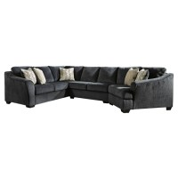 Eltmann - Eltmann 3-Piece Sectional with Cuddler