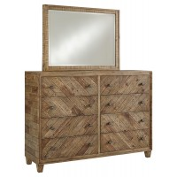 Grindleburg Dresser and Mirror