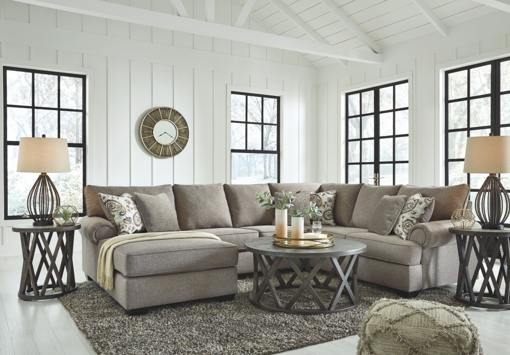 Renchen - Renchen 3-Piece Sectional with Chaise | 41404S1/16 ...