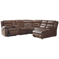 Coahoma - Coahoma 7-Piece Reclining Sectional with Chaise
