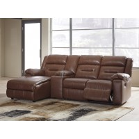 Coahoma - Coahoma 4-Piece Reclining Sectional with Chaise
