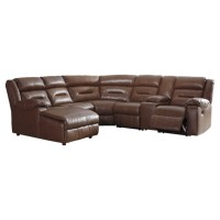 Coahoma 7-Piece Reclining Sectional with Chaise