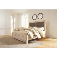 Willabry King Panel Bed with Storage