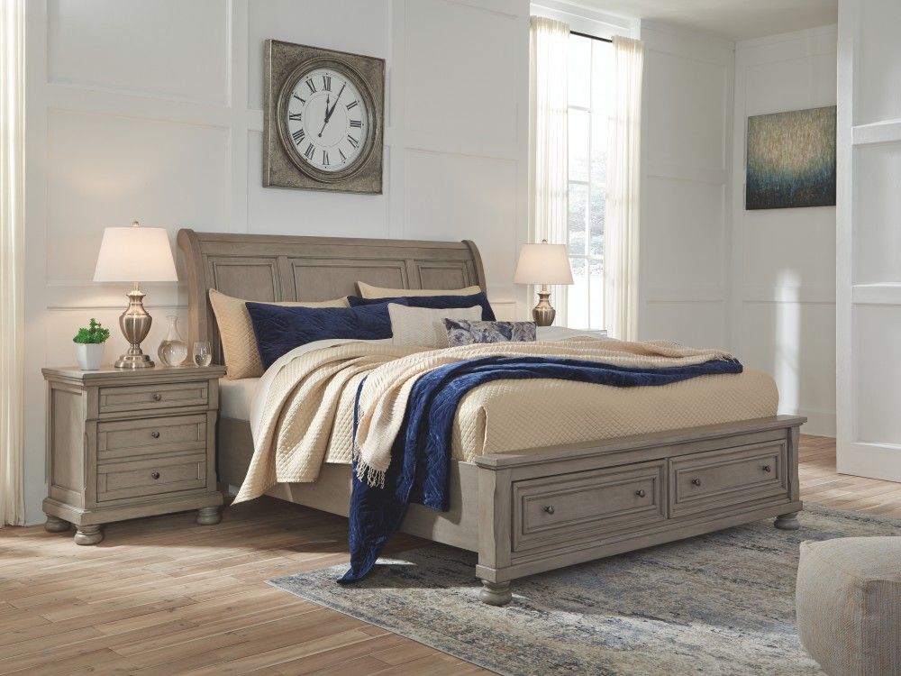 Lettner California King Sleigh Bed