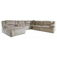 Toletta - Toletta 6-Piece Reclining Sectional with Chaise and Power