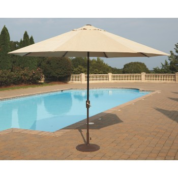 Umbrella Accessories 2-Piece 10' Octagonal Tilt Umbrella Set