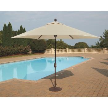 Umbrella Accessories 2-Piece 9' Octagonal Tilt Umbrella Set