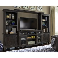 Townser - 4-Piece Entertainment Center