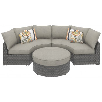 Spring Dew - Spring Dew 3-Piece Outdoor Seating Set
