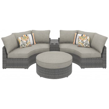 Spring Dew - Spring Dew 4-Piece Outdoor Seating Set