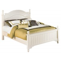 Cottage Retreat Full Poster Bed with Trundle