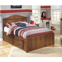 Barchan - Barchan Full Panel Bed with 4-Storage