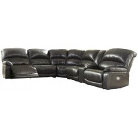Hallstrung - Hallstrung 6-Piece Reclining Sectional with Power