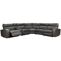 Samperstone - 6-Piece Reclining Sectional with Power
