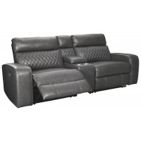 Samperstone - Samperstone 3-Piece Reclining Sectional with Power
