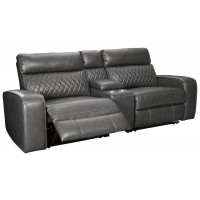 Samperstone - 3-Piece Power Reclining Sectional