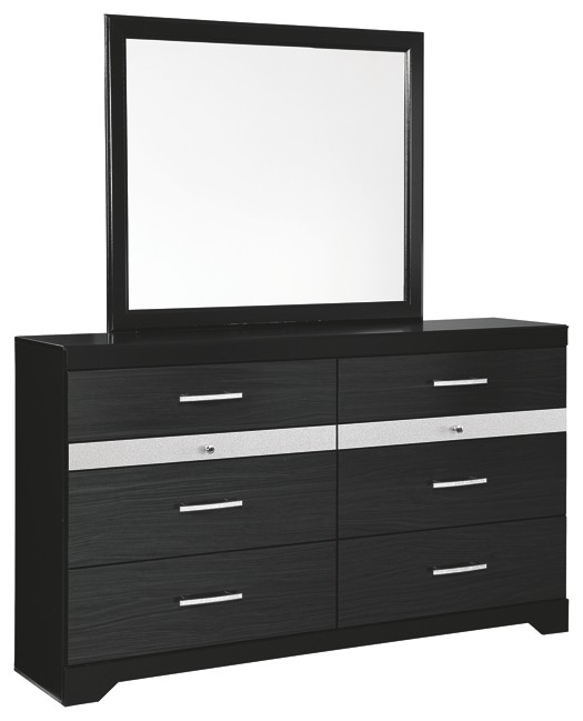 Starberry - Dresser and Mirror