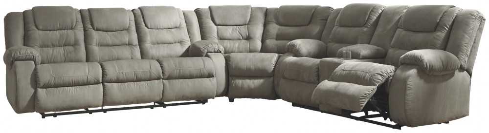 McCade - 3-Piece Reclining Sectional
