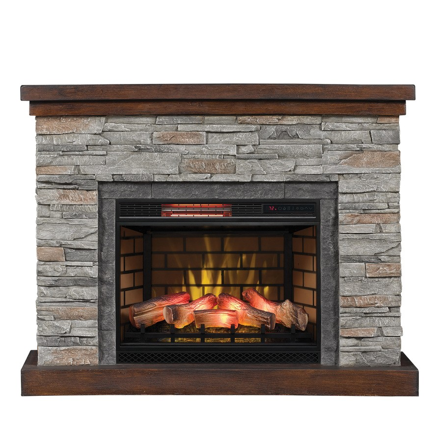 Duraflame 54-in W 5200-BTU Cappuccino Brown