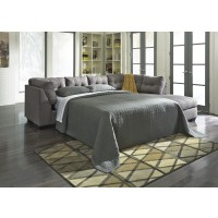 Maier - Charcoal - LAF Full Sofa Sleeper & RAF Corner Chaise