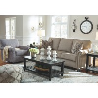 Renley - Ash - Swivel Glider Accent Chair