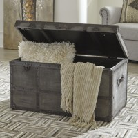 Amsel - Gray - Storage Trunk